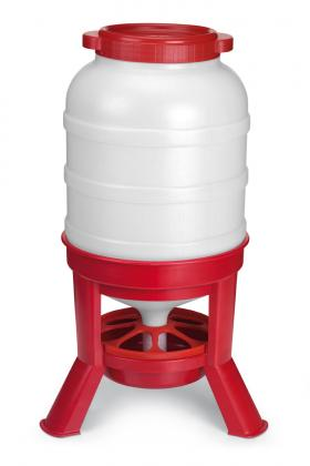 108 units of the 40 Ltr Hopper feeder for poultry. Dimensions: Ø 360 x 780 mm. Leg: 160 mm. FREE DELIVERY and NO VAT charge