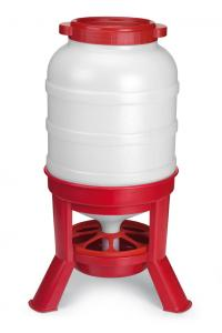 108 units of the 40 Ltr Hopper feeder for poultry. Dimensions: Ø 360 x 780 mm. Leg: 160 mm. FREE DE