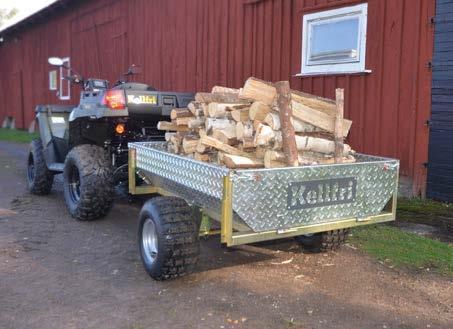 Kellfri TIPPING TRAILER ATV 500 KG