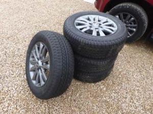 NEW ISUZU alloy wheels, £400.00 + vat.