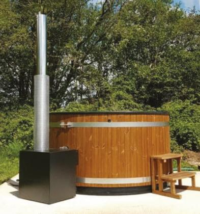 Boost your bookings with a Kirami Wood Fired Hot Tub