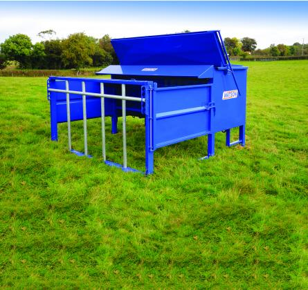 Bull Feeder - (Creep Gates Optional)
