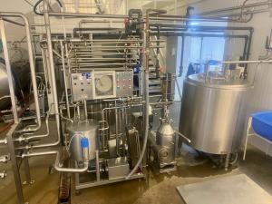 Milk Pasteuriser - 1000 litres/hour