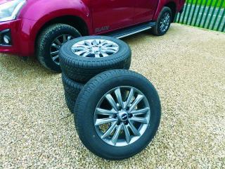 New ISUZU Blade style alloy & tyre