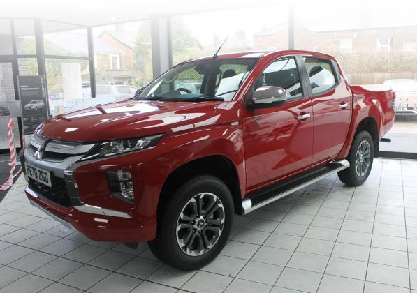 THE NEW MITSUBISHI L200 TROJAN NFU SPECIAL AT BROWNS MITSUBISHI
