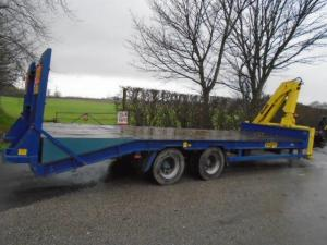 Herbst 24' Low Loader Trailer