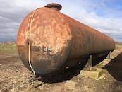 Thick Steel Bulk Liquid Tank