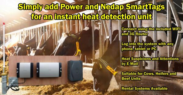 Nedap Heat Detection systems